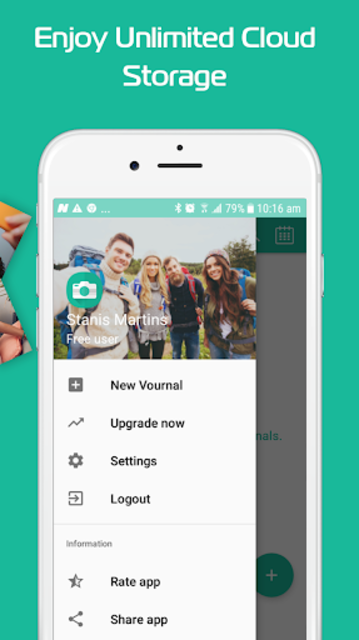 Vournally - Video Diary, Journal, Vlog with PIN screenshot 4