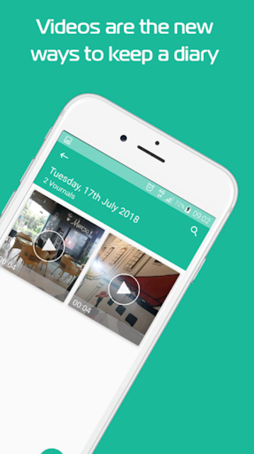 Vournally - Video Diary, Journal, Vlog with PIN screenshot 5