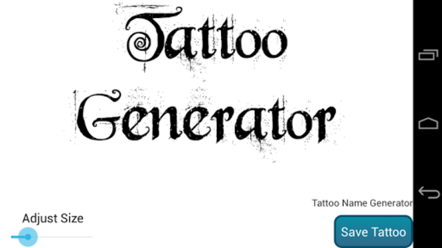 Tattoo Design Generator PRO screenshot 4