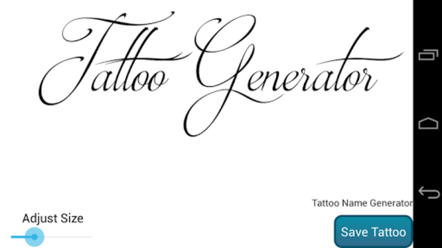 Tattoo Design Generator PRO screenshot 5