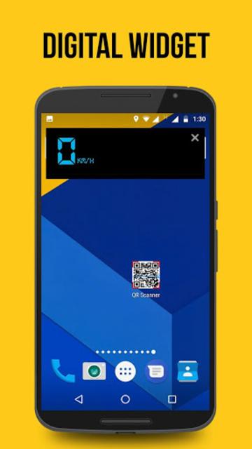 GPS Speedometer, HUD ADS Free screenshot 2