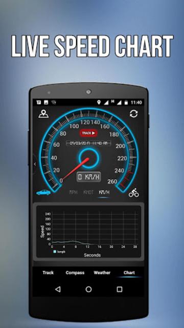 GPS Speedometer, HUD ADS Free screenshot 6