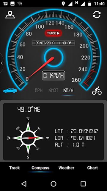GPS Speedometer, HUD ADS Free screenshot 9