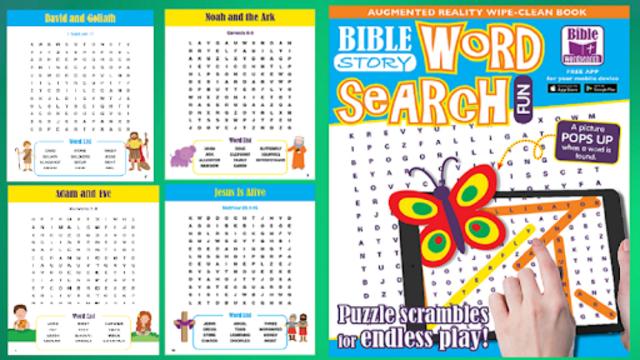 Word Search Bible Fun screenshot 12