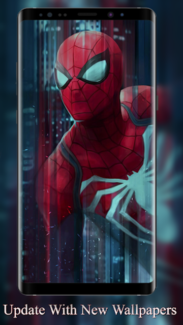 Spidy background wallpapers HD screenshot 1