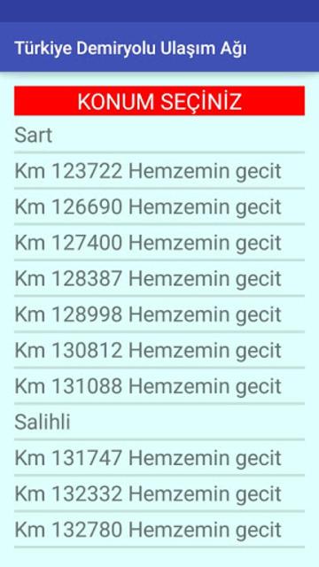 Demir-Yol screenshot 3