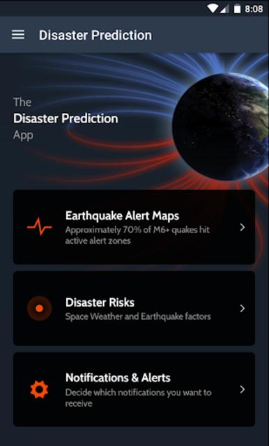 Disaster Prediction App screenshot 1