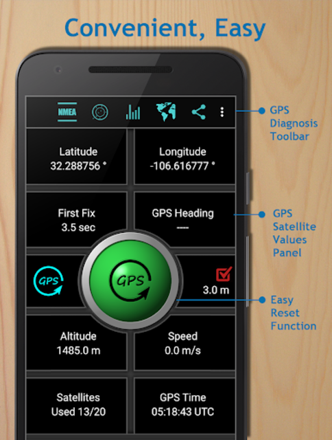 GPS Reset COM - GPS Repair, Navigation & GPS info screenshot 2