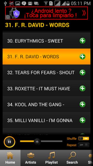 80's Songs screenshot 1