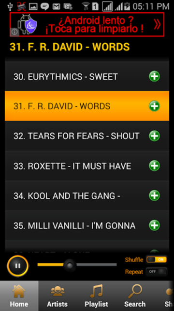 80's Songs screenshot 5