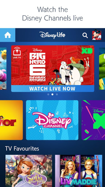 DisneyLife - Watch Movies & TV screenshot 4
