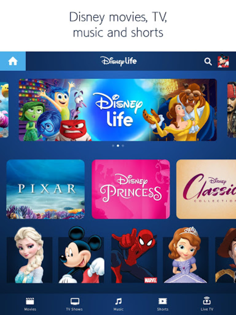 DisneyLife - Watch Movies & TV screenshot 6