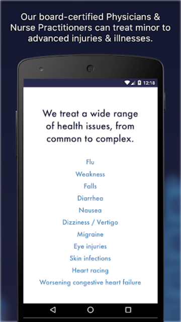 DispatchHealth screenshot 2