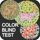 Icon for Color Blindness Test, Color Vision Eye Tests