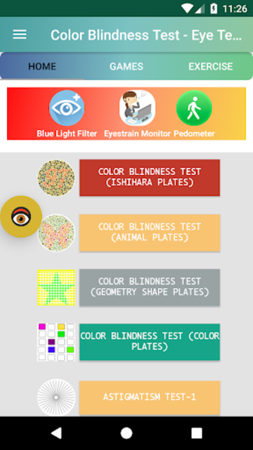 Color Blindness Test, Color Vision Eye Tests screenshot 9