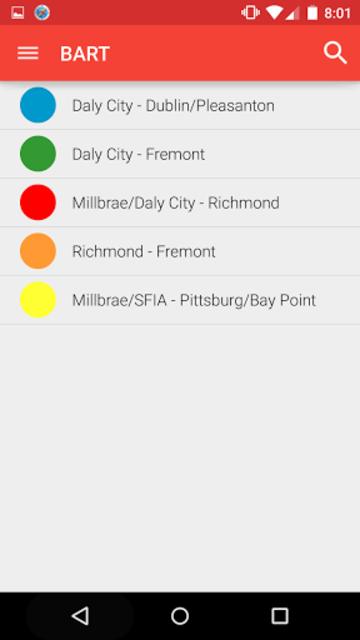 Metro San Francisco -Muni Bart screenshot 5