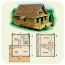Icon for DIY log home plans