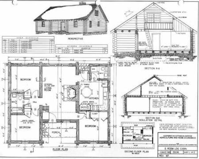 DIY log home plans screenshot 2