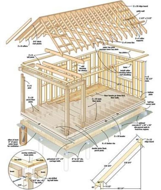 DIY log home plans screenshot 3