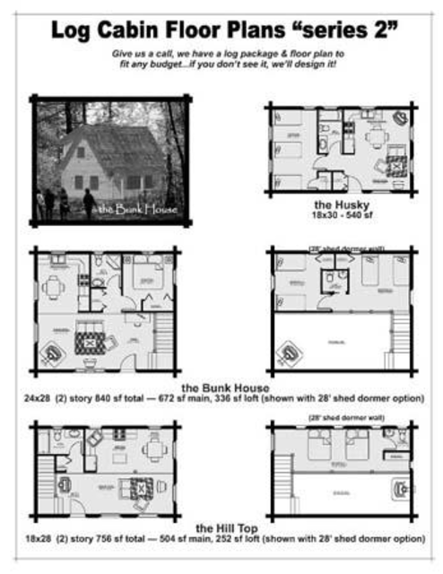 DIY log home plans screenshot 5