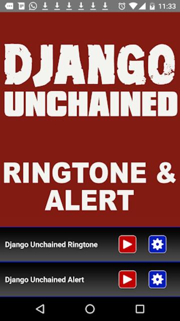 Django Unchained Ringtone screenshot 2