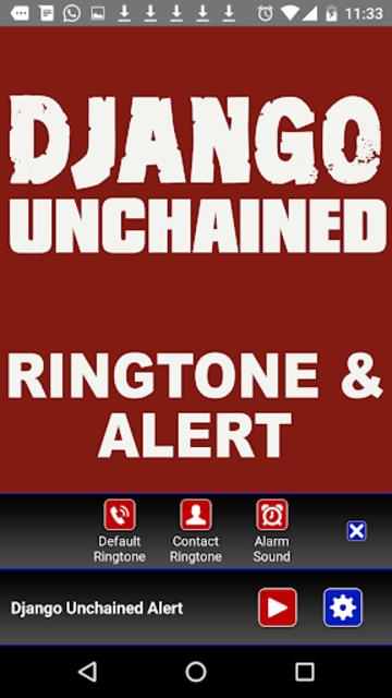 Django Unchained Ringtone screenshot 3