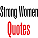 Icon for Strong Women Quotes