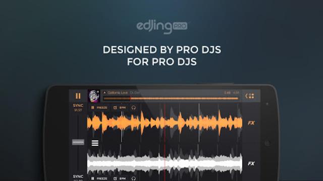 edjing PRO - Music DJ mixer screenshot 1