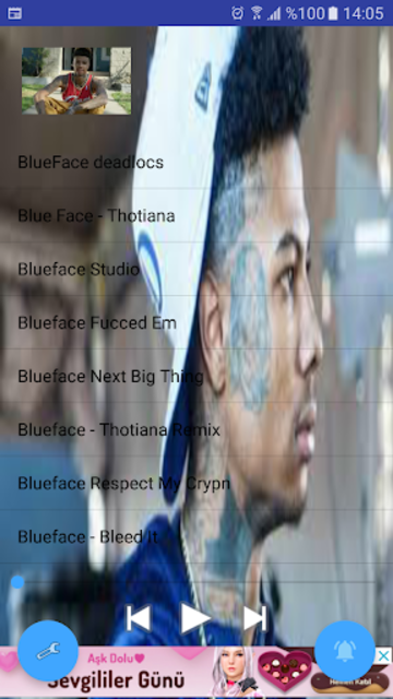 BlueFace musics  // without internet screenshot 1