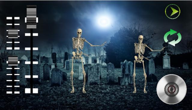 DJ Music for dancing skeleton screenshot 1