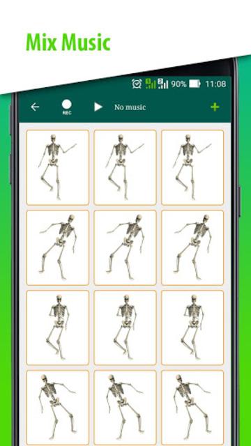 DJ Music for dancing skeleton screenshot 17