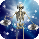 Icon for DJ Music for dancing skeleton