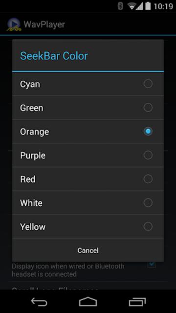 WavPlayer screenshot 4