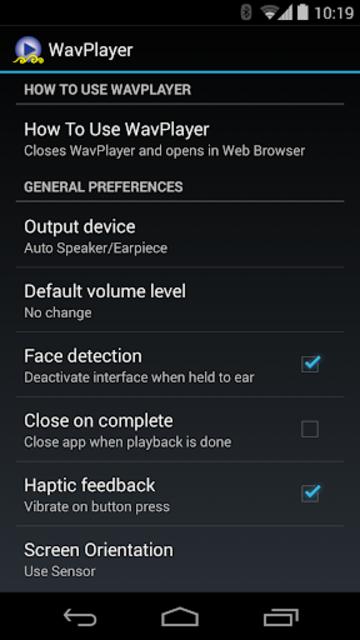 WavPlayer screenshot 6