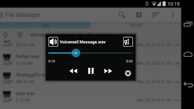WavPlayer screenshot 3