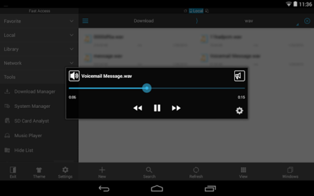 WavPlayer screenshot 8