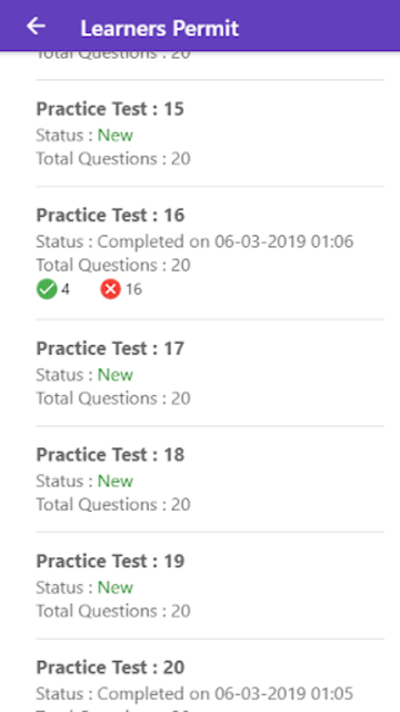 Practice Test USA & Road Signs screenshot 2