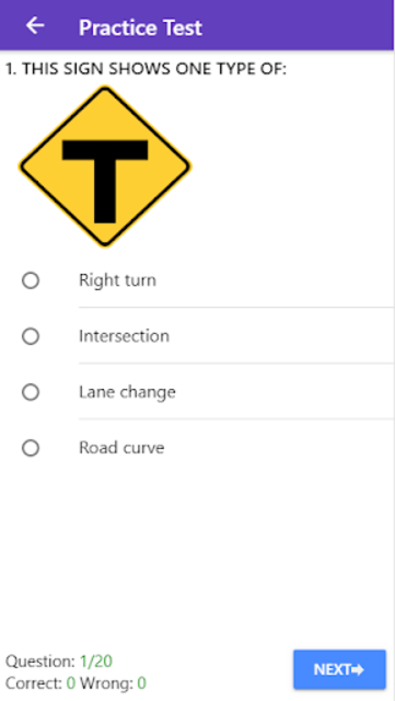 Practice Test USA & Road Signs screenshot 3