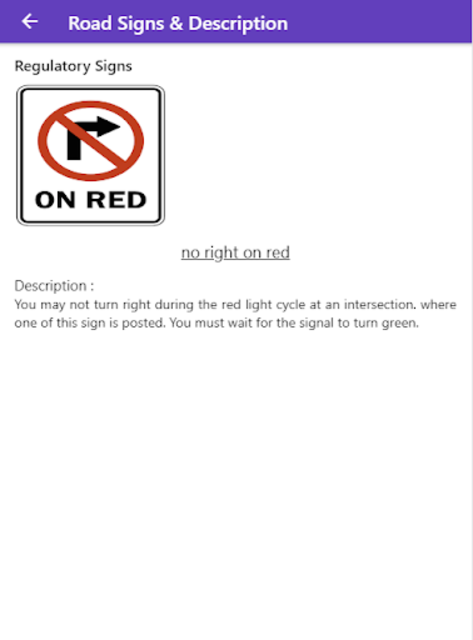 Practice Test USA & Road Signs screenshot 13