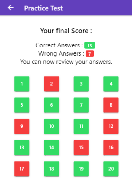 Practice Test USA & Road Signs screenshot 17