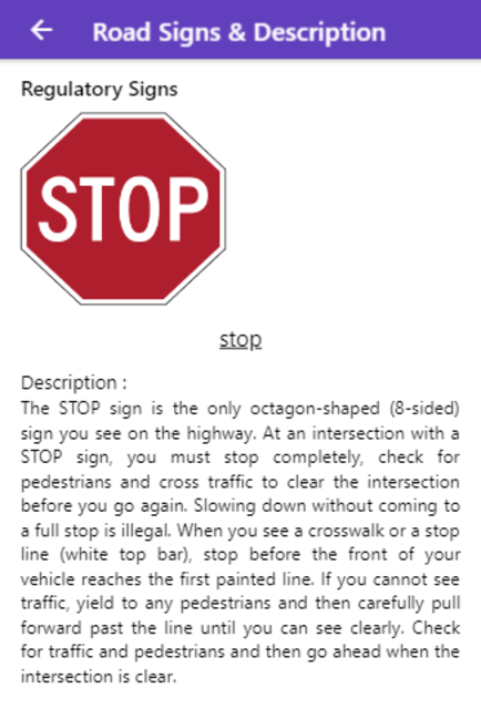 Practice Test USA & Road Signs screenshot 20