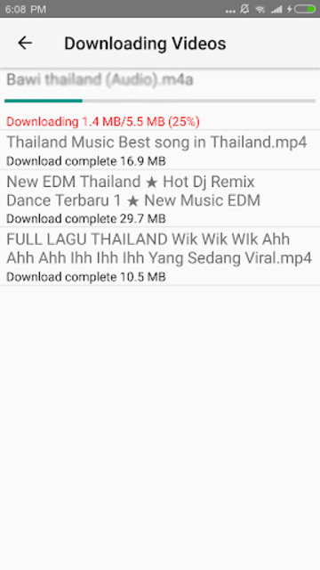 Music Download CC screenshot 3