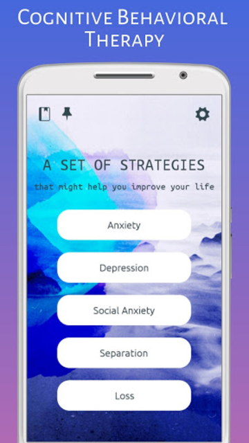 Cognitive Behavioral Therapy: Depression & Anxiety screenshot 2