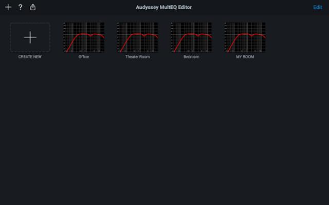 Audyssey MultEQ Editor app screenshot 7