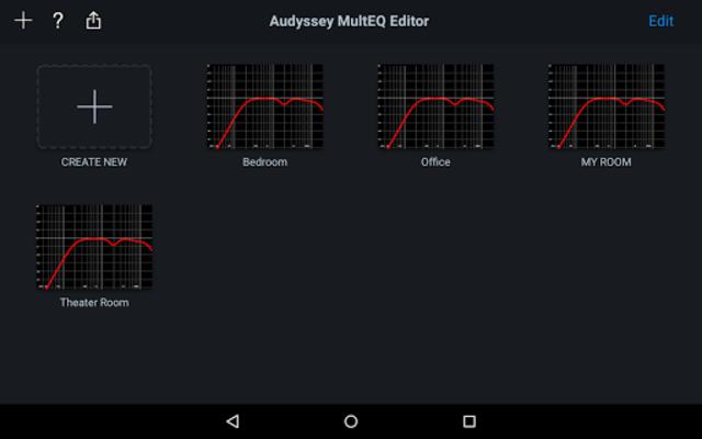 Audyssey MultEQ Editor app screenshot 12