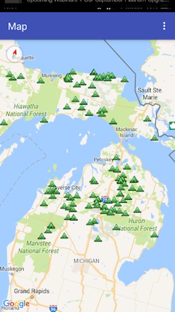 MyPoi KML map integrator screenshot 1
