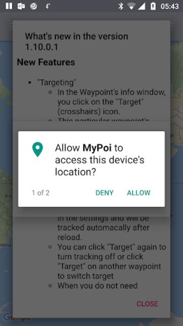 MyPoi KML map integrator screenshot 6
