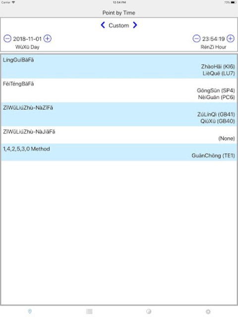 Chrono-Acupuncture Pro screenshot 9