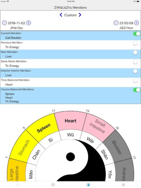 Chrono-Acupuncture Pro screenshot 14