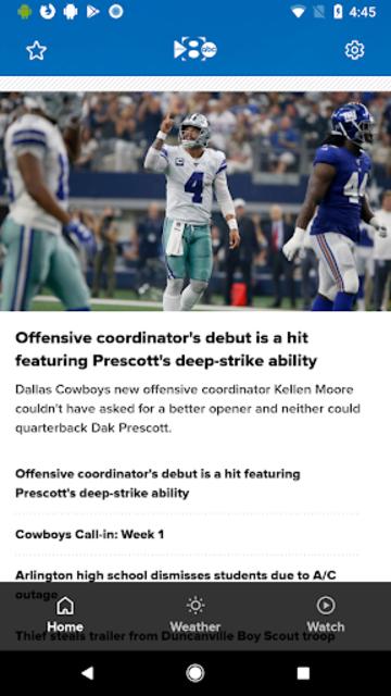 WFAA - News from North Texas screenshot 1